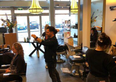 Foto van training Degger Kappers Noordwijk